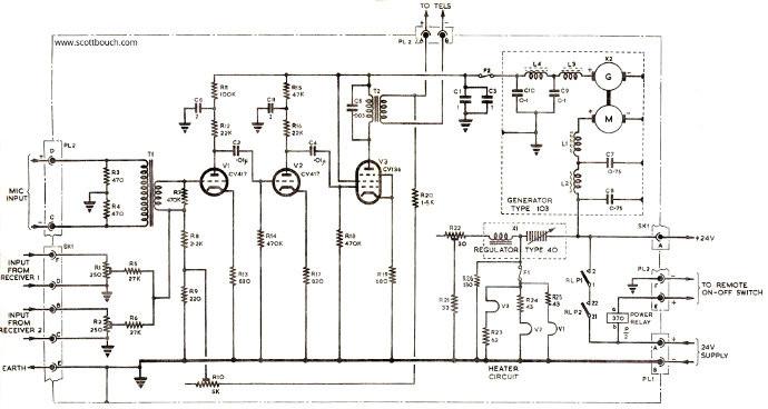 a1961 intercom amplifier