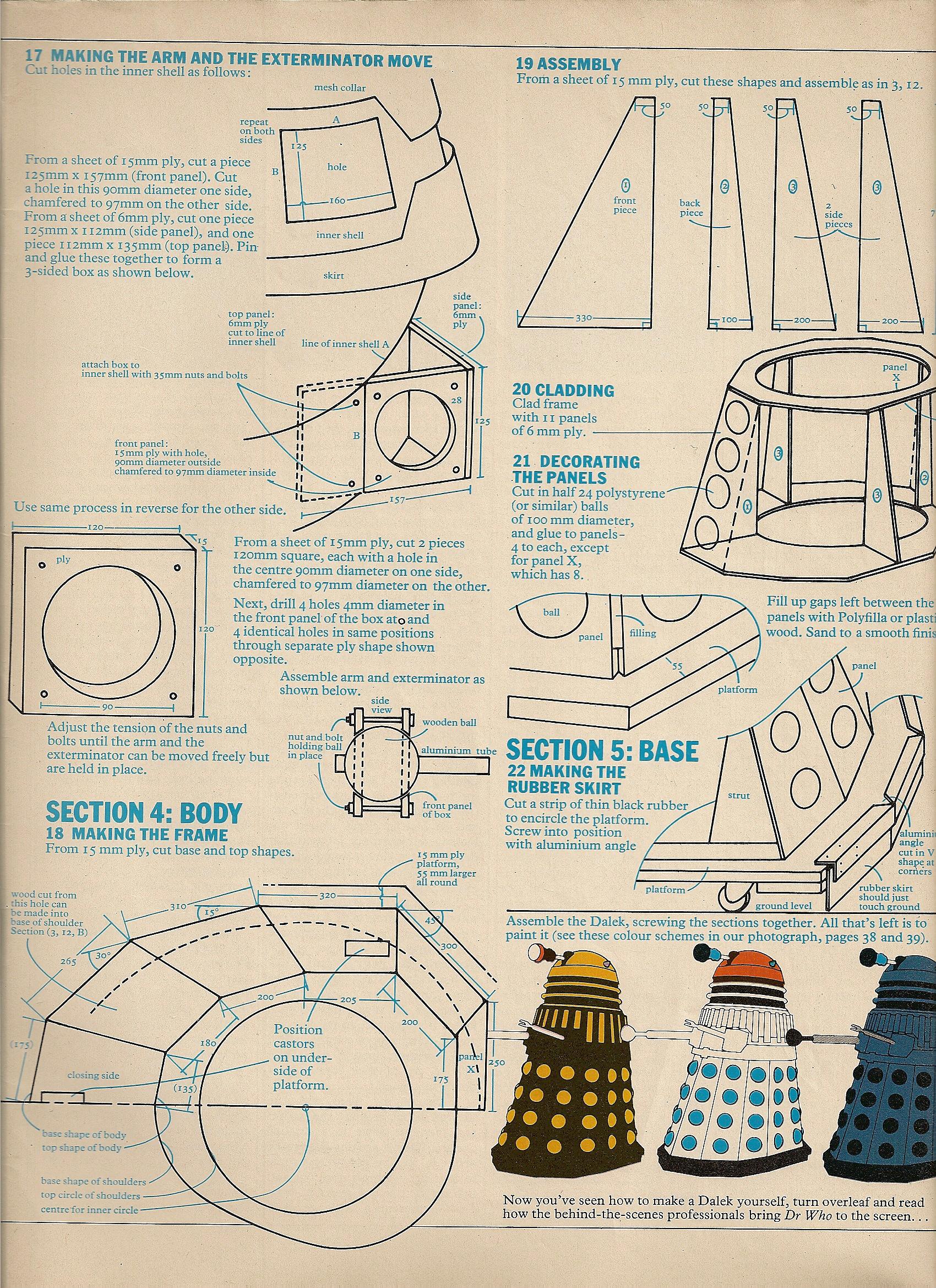 1973 Radio Times Dalek Plans Scottbouch